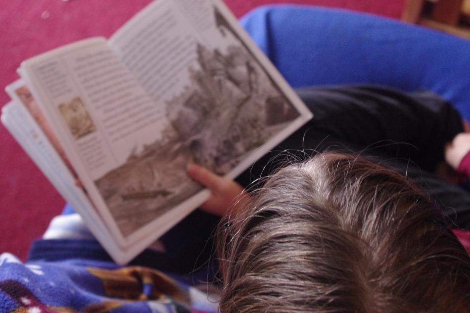 unschooler reading